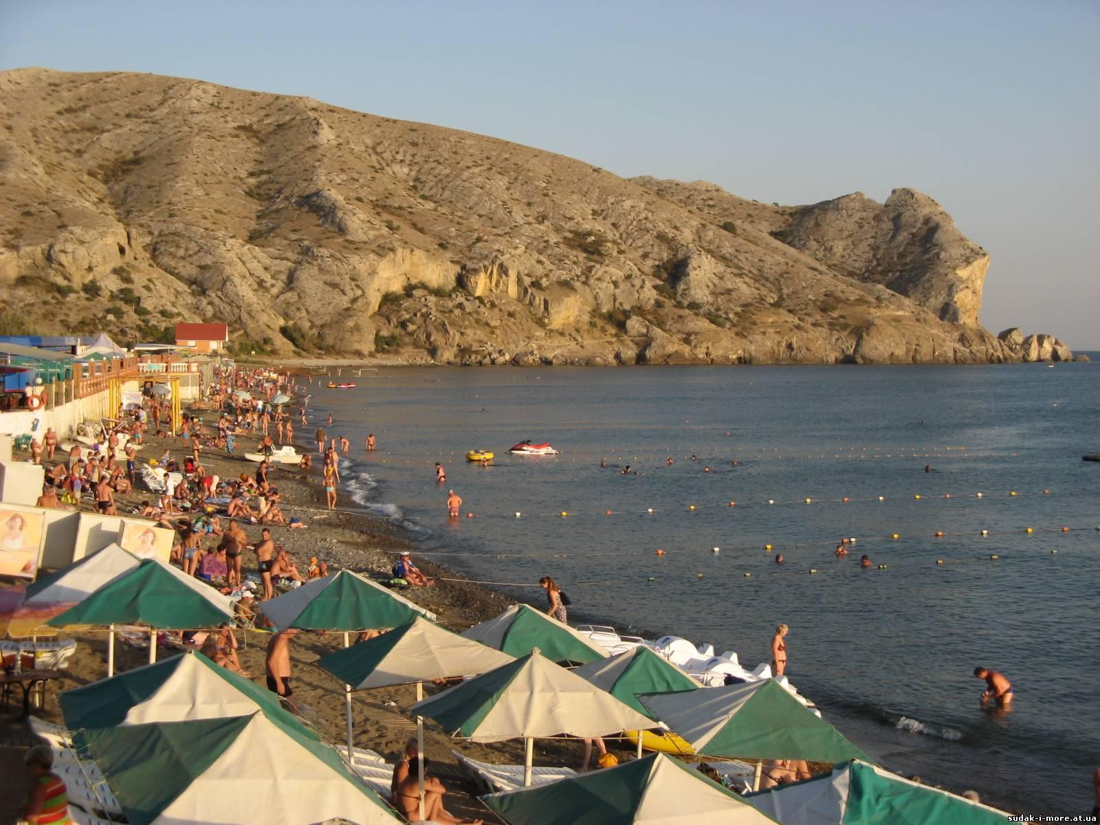 Крым г судак пляж фото